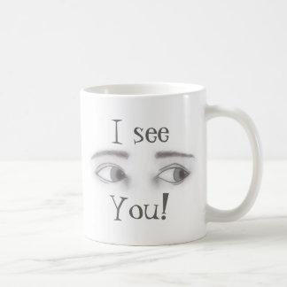 Masculine Eyes Coffee Mug