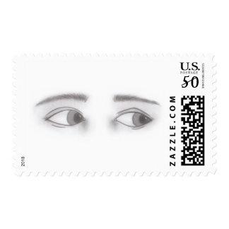 Masculine Eyes Postage