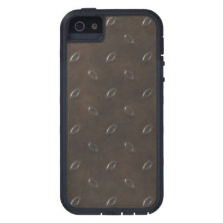 Masculine Manly Grungy Metal Diamond Plated Art iPhone 5 Cases