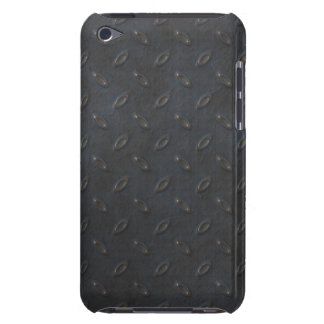 Masculine Manly Grungy Metal Diamond Plated Art Barely There iPod Cover