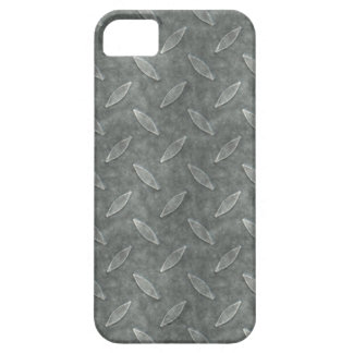 Masculine Manly Grungy Metal Diamond Plated Art iPhone 5 Cover