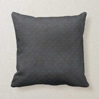 Masculine Manly Grungy Metal Diamond Plated Art Throw Pillow