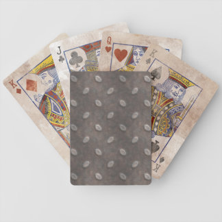 Masculine Manly Grungy Metal Diamond Plated Art Bicycle Playing Cards