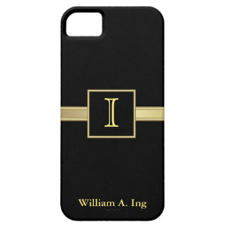 Masculine Monogram Executive iPhone 5 Cover