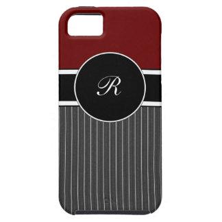 Masculine Monogram iPhone 5 Cases