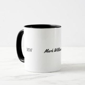 masculine name mug / personalized idea for men