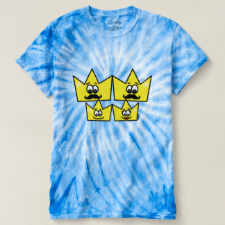 Masculine t-shirt tie-dye Cyclone - Gay Family