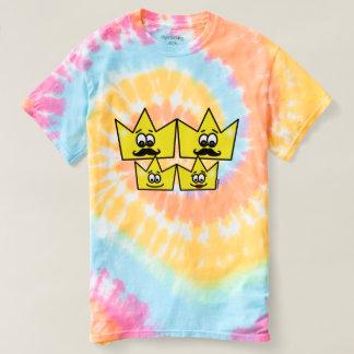 Masculine t-shirt tie-dye Spiral - Gay Family
