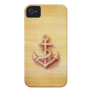 Masculine Vintage nautical classy anchor iPhone 4 Cover