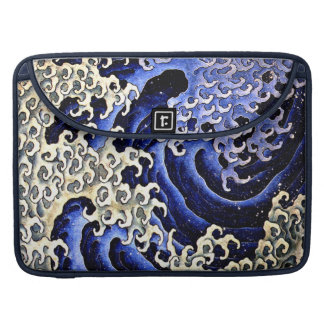 Masculine Wave (Detail) by Hokusai Sleeves For MacBook Pro
