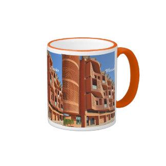 Masdar Modern Apartment Block Ringer Coffee Mug