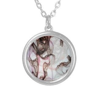 Masdevallia Round Pendant Necklace
