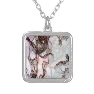 Masdevallia Square Pendant Necklace