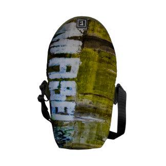 MASEI Graffiti messenger bag