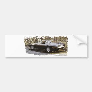 Maserati Ghibli Classic Bumper Sticker
