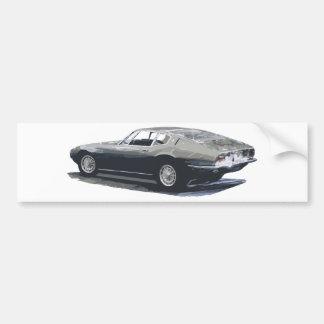 Maserati Ghibli Classic Drawing Bumper Sticker