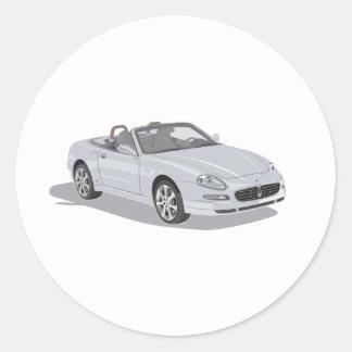 Maserati Spyder Etiquetas
