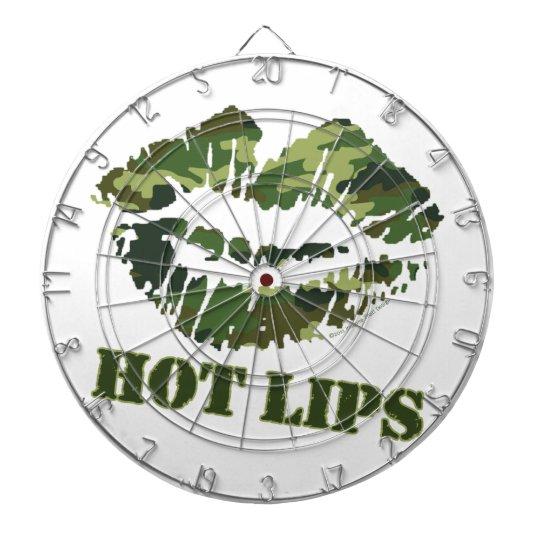 MASH Hot Lips Dartboard With Darts