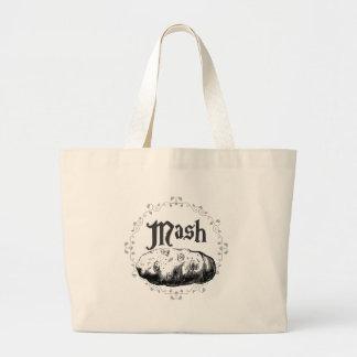 Mash Large Tote Bag