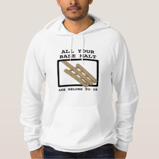 Mash Paddle - All your base malt are belong to us Hoodie