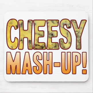 Mash-Up Blue Cheesy Mouse Pad