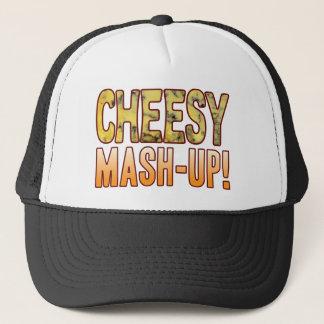 Mash-Up Blue Cheesy Trucker Hat