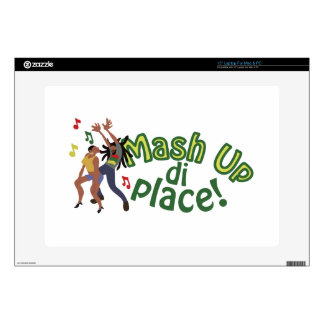 Mash Up Di Place Laptop Decals