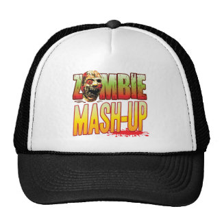 Mash-Up Zombie Head Hats
