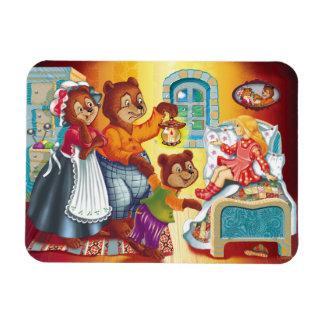 Masha and 3 bears magnet