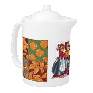 Masha and 3 bears teapot