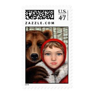 Masha and the Bear Postage