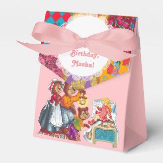 Masha y 3 osos caja para regalo de boda