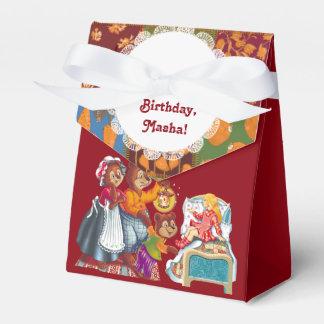 Masha y 3 osos cajas para regalos