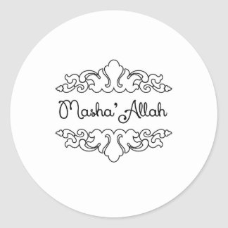 Masha'allah Pegatina Redonda