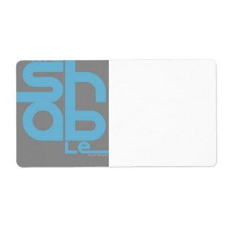 Mashable Shipping Label