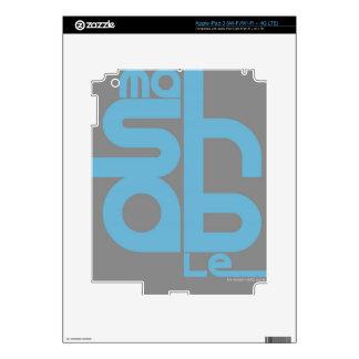 Mashable Decal For iPad 3
