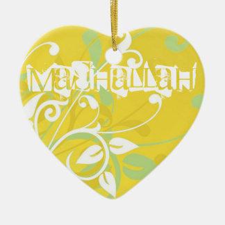Mashallah islamic decorative art ornament