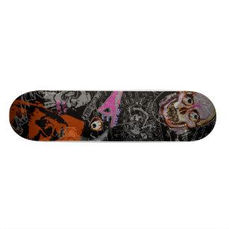 Mashed Monsters Film Noire Collage Skateboard Deck