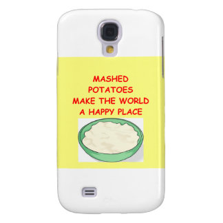 mashed potatoes galaxy s4 cover