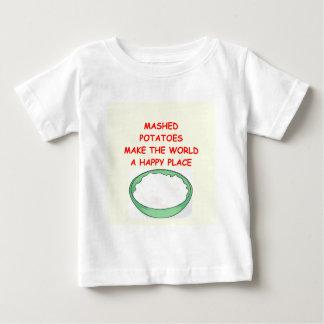 mashed potatoes infant t-shirt