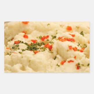 Mashed Potatoes Rectangular Sticker