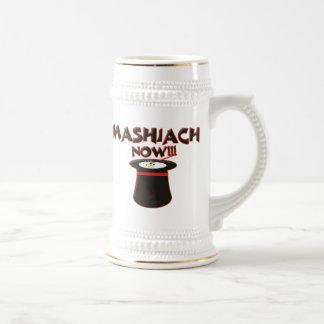 Mashiach ahora jarra de cerveza