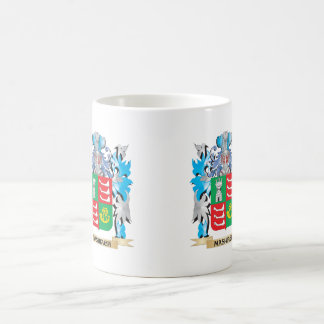 Mashiach Coat of Arms - Family Crest Classic White Coffee Mug