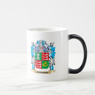 Mashiach Coat of Arms - Family Crest 11 Oz Magic Heat Color-Changing Coffee Mug