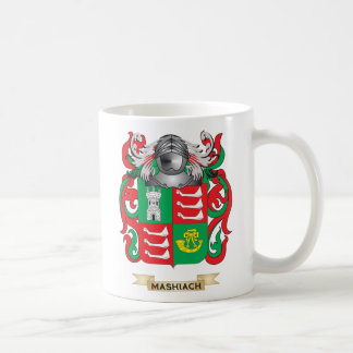 Mashiach Coat of Arms (Family Crest) Classic White Coffee Mug