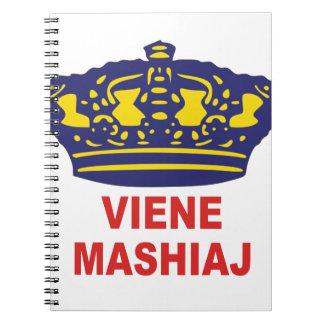 mashiaj del viene note book