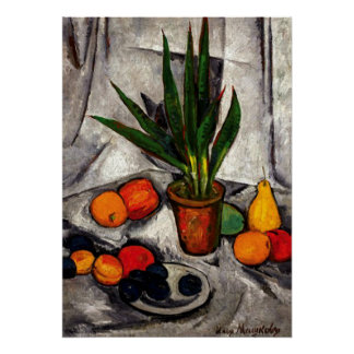 Mashkov - Still Life with Plants and Fruit Poster