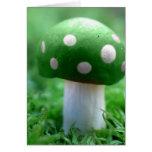 Mashroom verde felicitacion