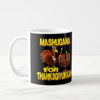 Mashugana para la taza de Thanksgivukkah Turquía M