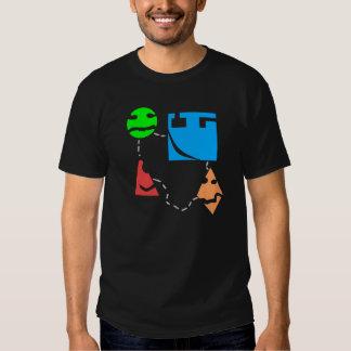 """""""Mashups"""" unique EDM desing Tee Shirt"""